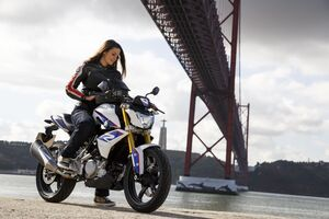 Bmw G 310 R Photoshoot Wallpaper
