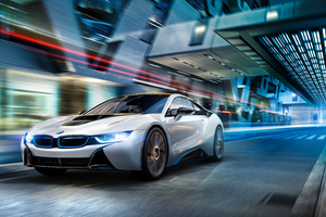 Bmw I8 Night