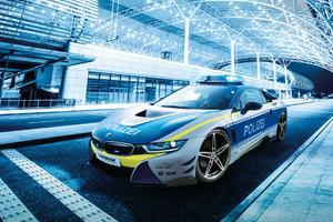 BMW I8 Polizei Car