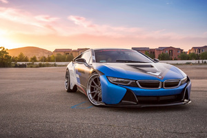 BMW I8 Vorsteiner Wallpaper