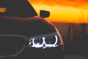 Bmw Lights 4k