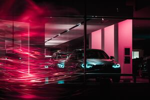 Bmw Long Exposure 5k