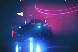 Bmw M3 Neon Lights Nfs Heat Wallpaper