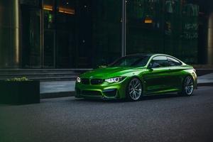 Bmw M4 Green 5k