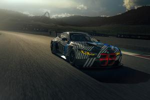 BMW M4 GT3 5k Wallpaper