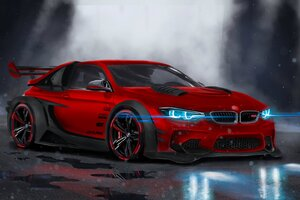 BMW M4 Highly Modified Wallpaper