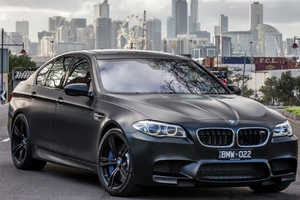 Bmw M5 Black Wallpaper