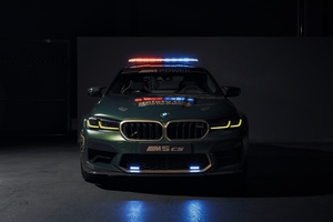 BMW M5 CS MotoGP Safety Car 2021 Wallpaper