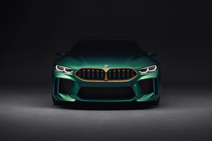 Bmw M8 4k Front Wallpaper