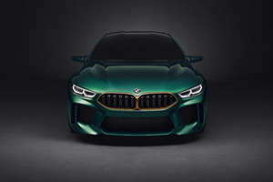 Bmw M8 4k Front View Wallpaper
