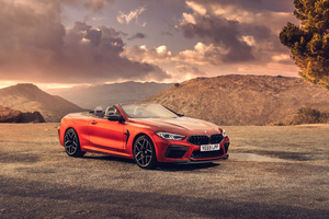 BMW M8 Competition Cabrio 2020 4k 5k Wallpaper