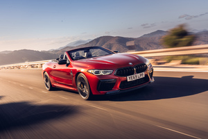 BMW M8 Competition Cabrio 2020 5k Wallpaper