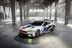 BMW M8 GTE 2018 4k