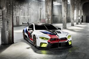 BMW M8 GTE 2018