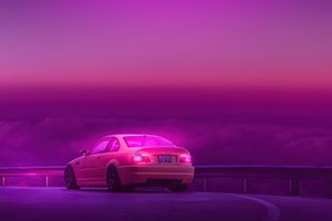 Bmw Outrun Synthwave