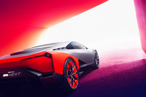 BMW Vision M NEXT 2019 Rear