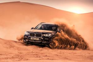 BMW X3 XDrive30d M Sport 2017 Offroading Wallpaper