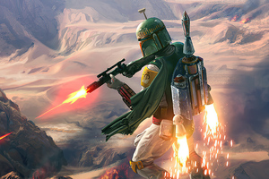 Boba Fett 2020 Wallpaper