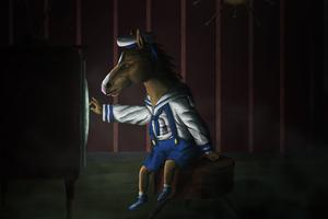 BoJack Horseman 4k Wallpaper