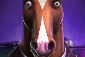 Bojack Horseman Tv Series 4k