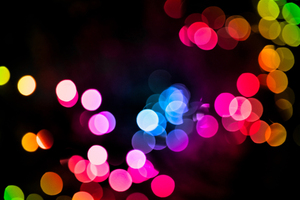 Bokeh Colorful Lights Blurred