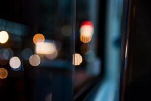 Bokeh Lights Blur 5k