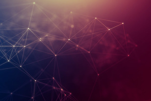 Bonding Particle 4k Wallpaper