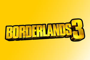 Borderlands 3 Logo 8k