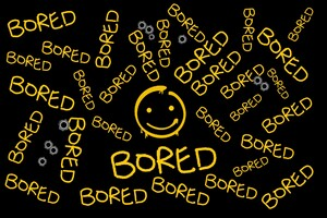 Bored Typography