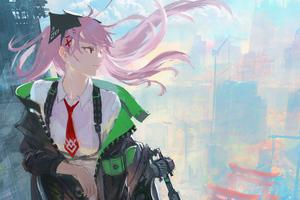 Bounty Counter Anime Girl 4k