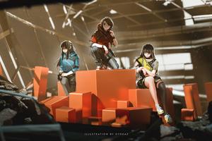 Box Girls 5k