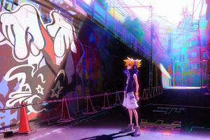 Boy In Graffiti Town