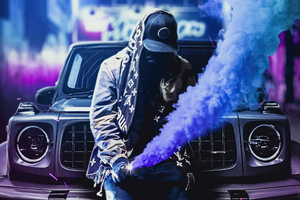 Boy With His Gwagon Smoke Bomb