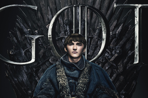 Bran Stark Game Of Thrones Season 8 Poster