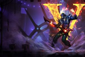 Brand League Of Legends Artwork 4k