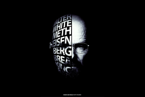Breaking Bad Typography Wallpaper
