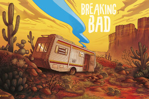 Breaking Bad Van Artwork