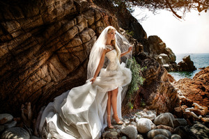 Bride Wedding Dress Wallpaper