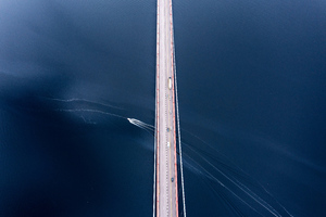 Bridge Under Blue Sky 5k Wallpaper