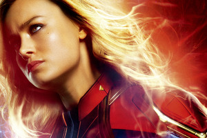 Brie Larson As Captain Marvel Movie 10k Wallpaper