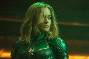 Brie Larson As Captain Marvel Movie