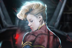 Brie Larson Captain Wallpaper