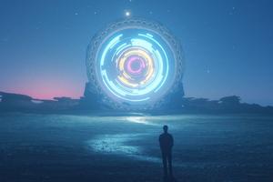 Brightness And Glory Portal 4k Wallpaper