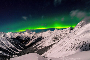 British Columbia Aurora 8k Wallpaper