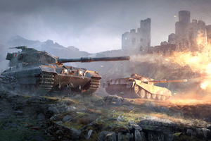 British Tank World OF Tanks Wallpaper