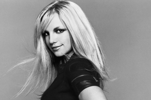 Britney Spears Monochrome