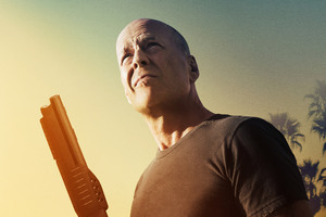 Bruce Willis In Once Upon A Time In Venice 4k Wallpaper