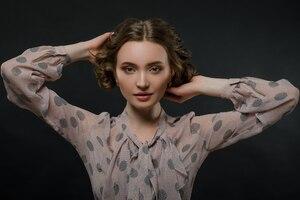 Brunette Portrait Hd