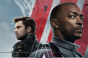 Bucky Barnes And Sam Wilson The Falcon And The Winter Soldier Wallpaper