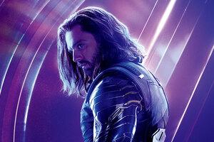 Bucky Barnes In Avengers Infinity War 8k Poster